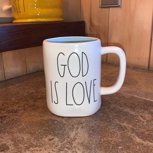"Rae Dunn ""God Is Love"" Mug"
